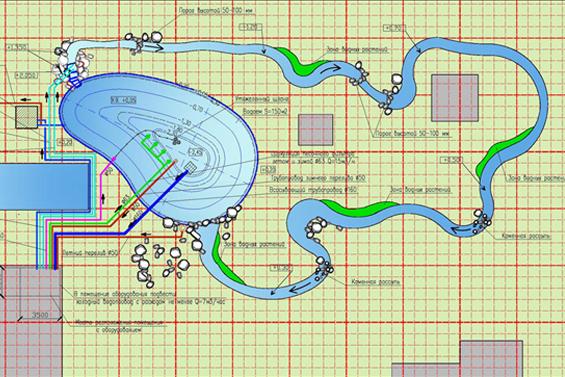 Проект искусственного водоема